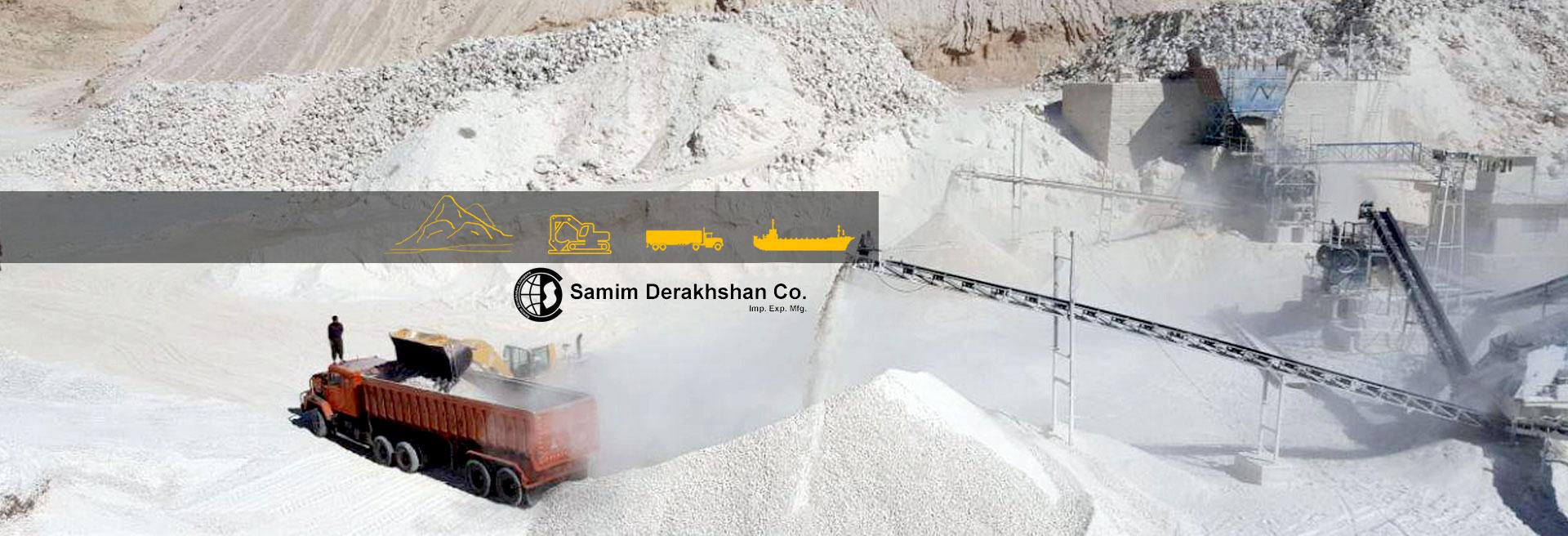 Samim Gypsum Iran Gypsum Supply