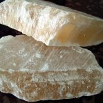 Alabaster stone rough