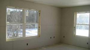 ساخت اتاق با دیوار گچی
